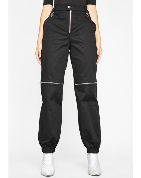 Hashtag Assassin Zip Joggers