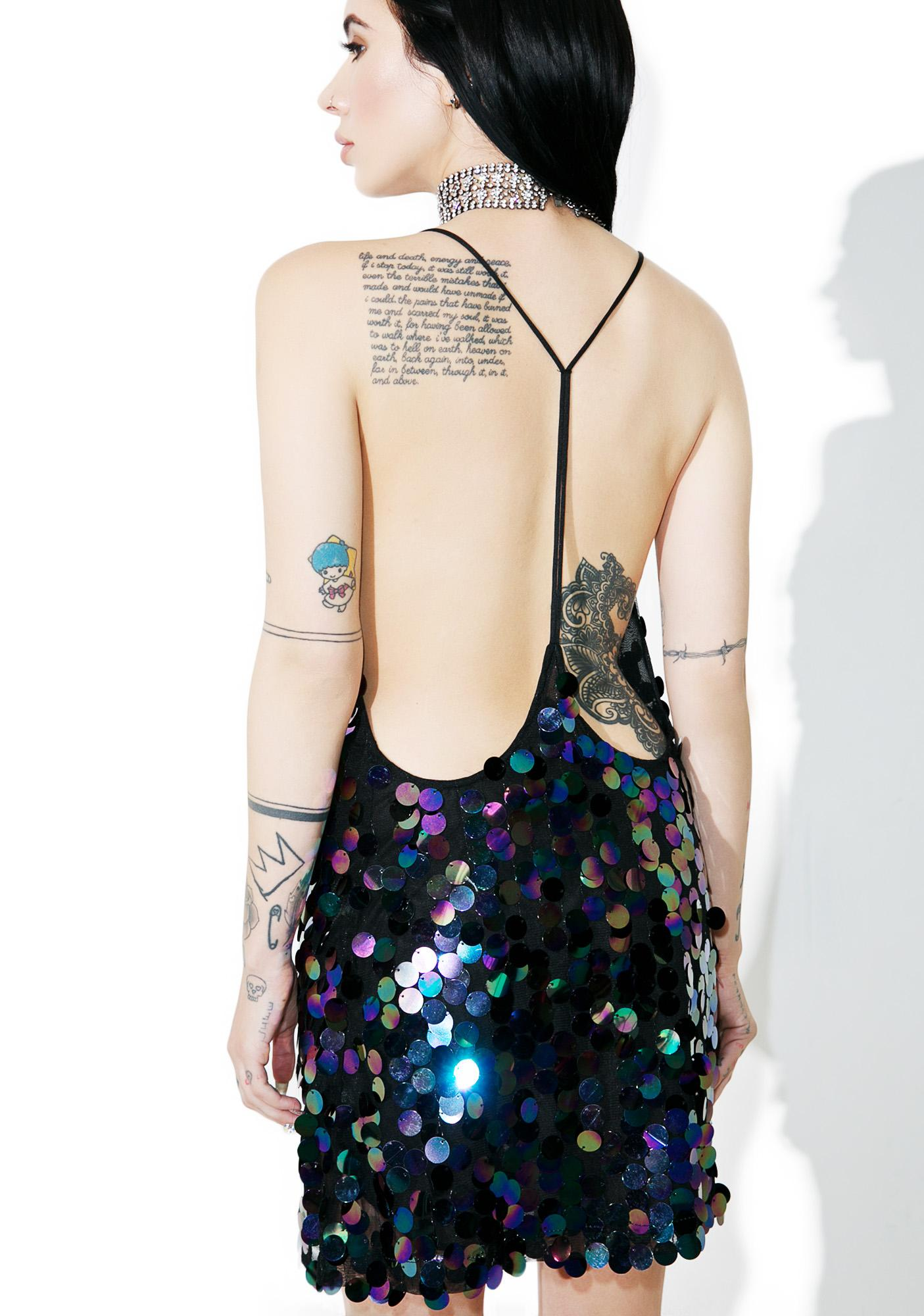 Motel Black Opal Finn Dress