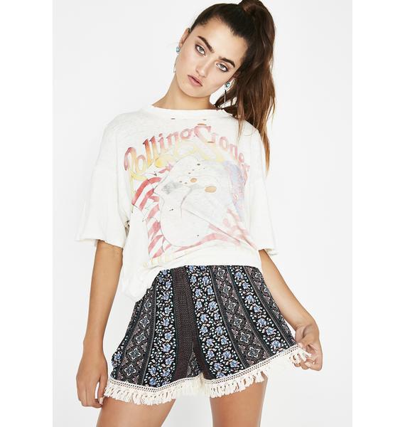 Natural Beauty Pattern Shorts
