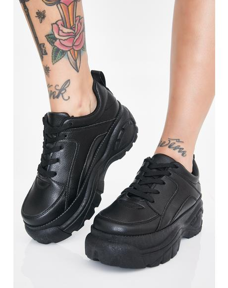 Stomp Of Approval Platform Sneakers