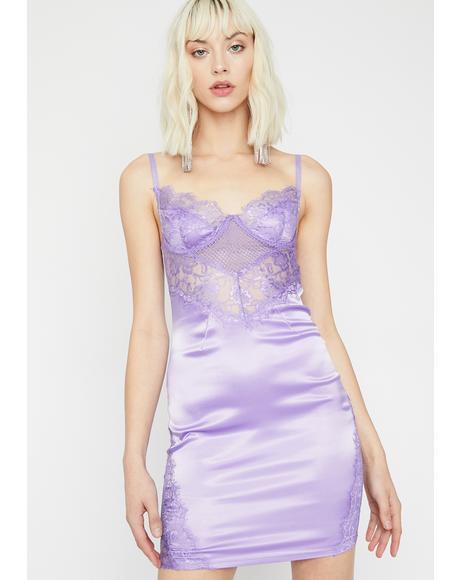 Grape Lookin' Like Dessert Mini Dress