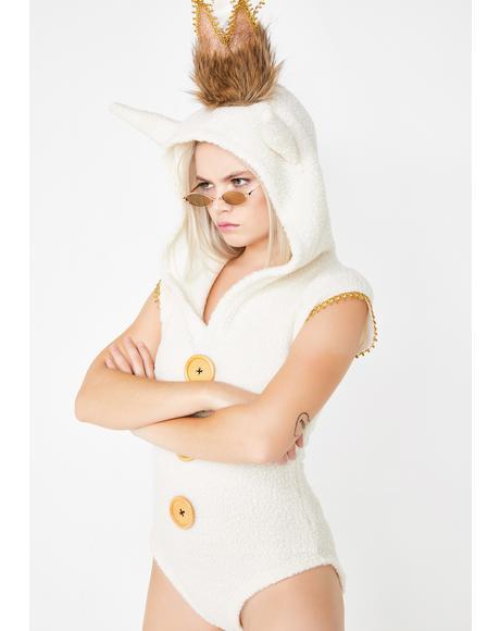 Queen Mischief Bodysuit Costume
