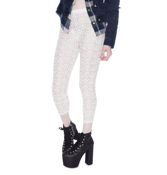 Daisy Lace Leggings