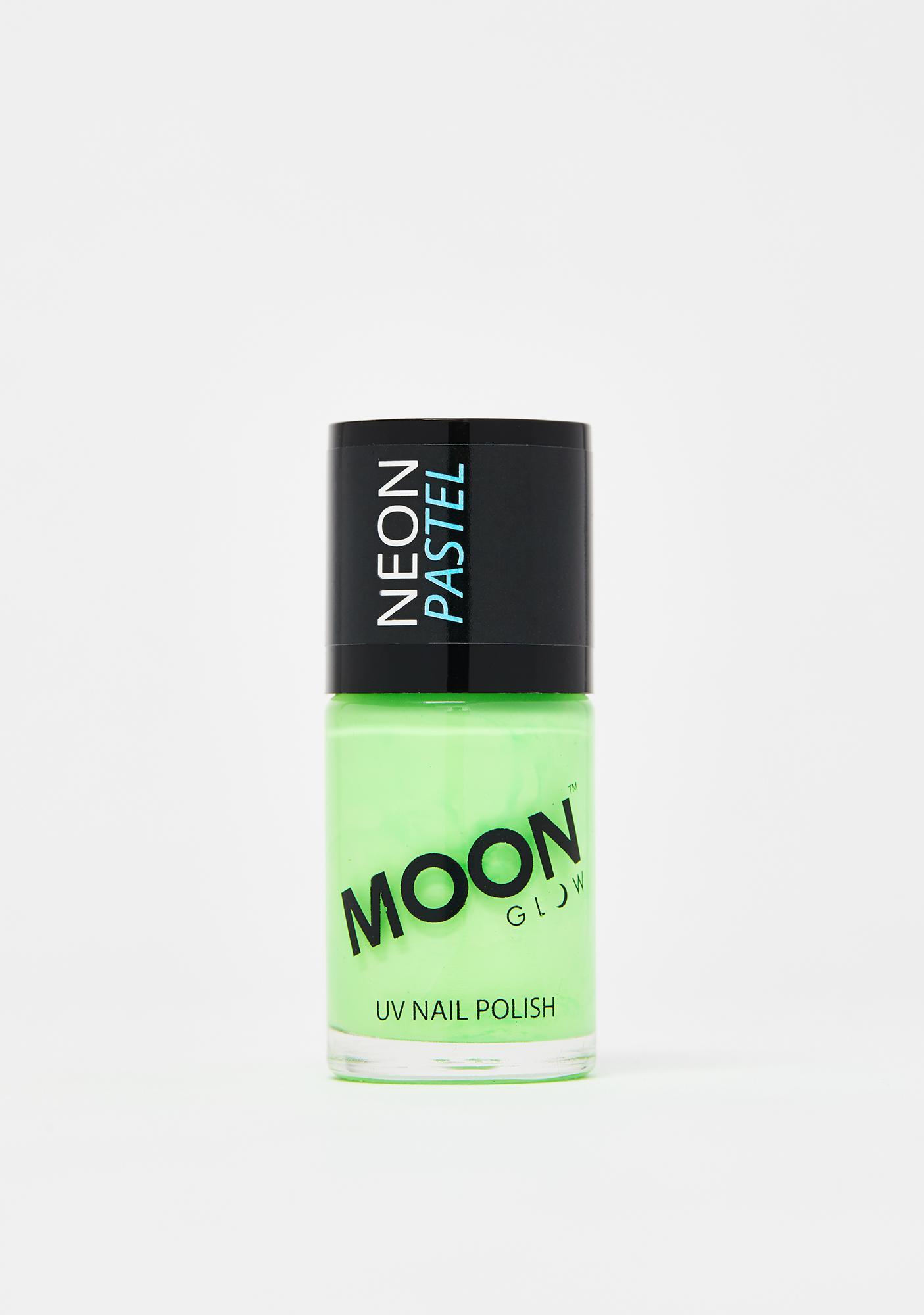 Moon Creations Pastel Green UV Nail Polish