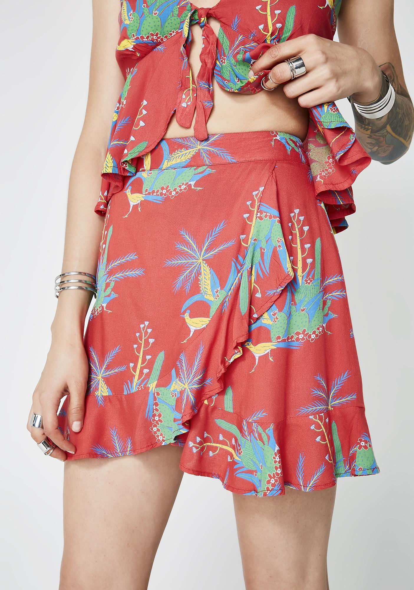 Island Steeze Mini Skirt