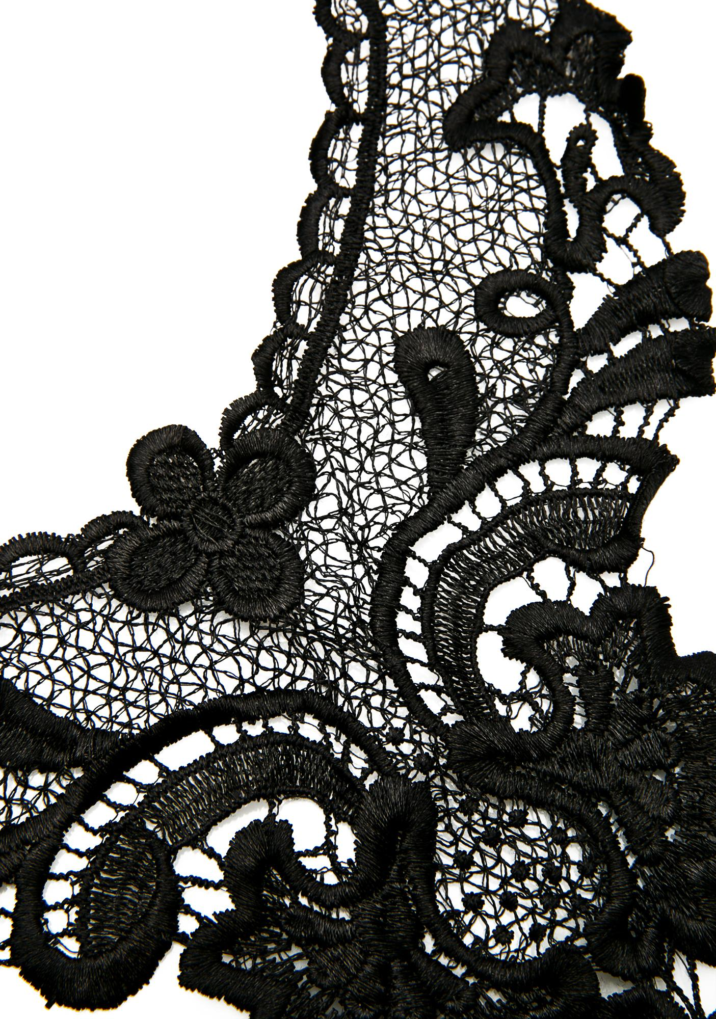 Nevermore Lace Body Chain