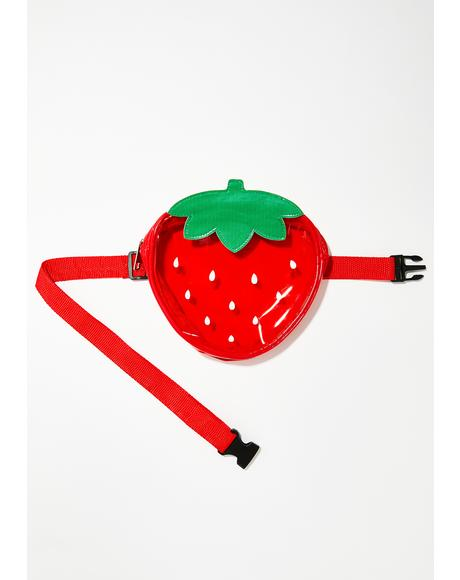 Berry Good Strawberry Fanny Pack