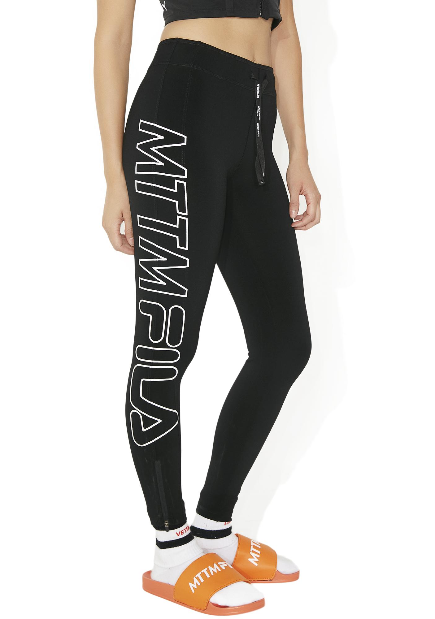 Married to the Mob Racer Leggings
