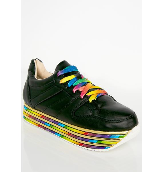 Sugar Zaddy Platform Sneakers