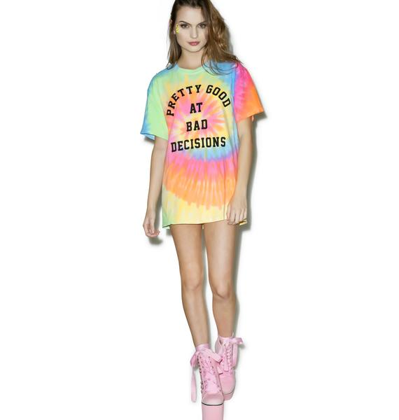 Burger And Friends Bad Decisions Tee