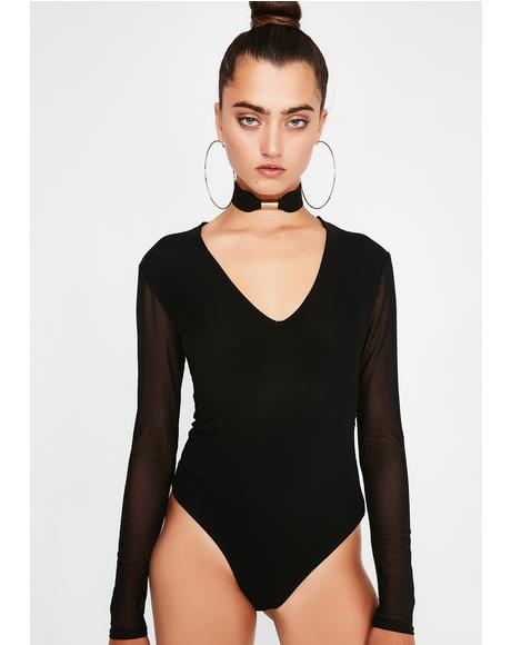 Take Ya Home Choker Bodysuit
