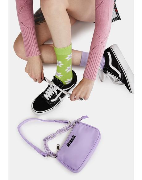 Green Sweet Daisy Socks