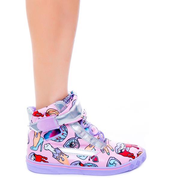 Iron Fist Glamour Guts Sneaker