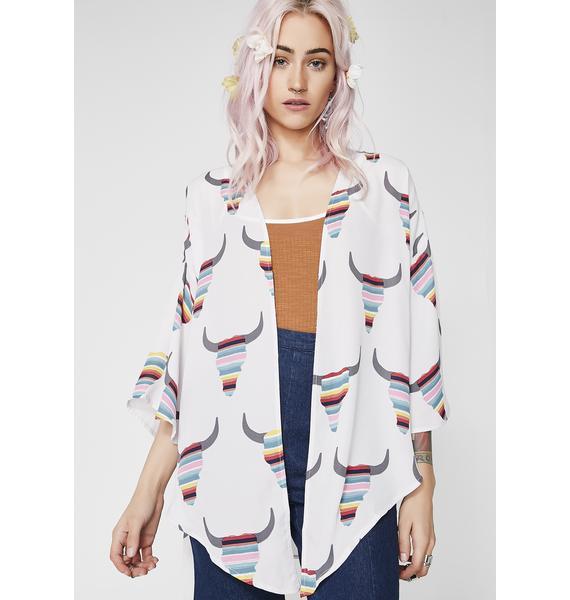 Run Wild Short Kimono