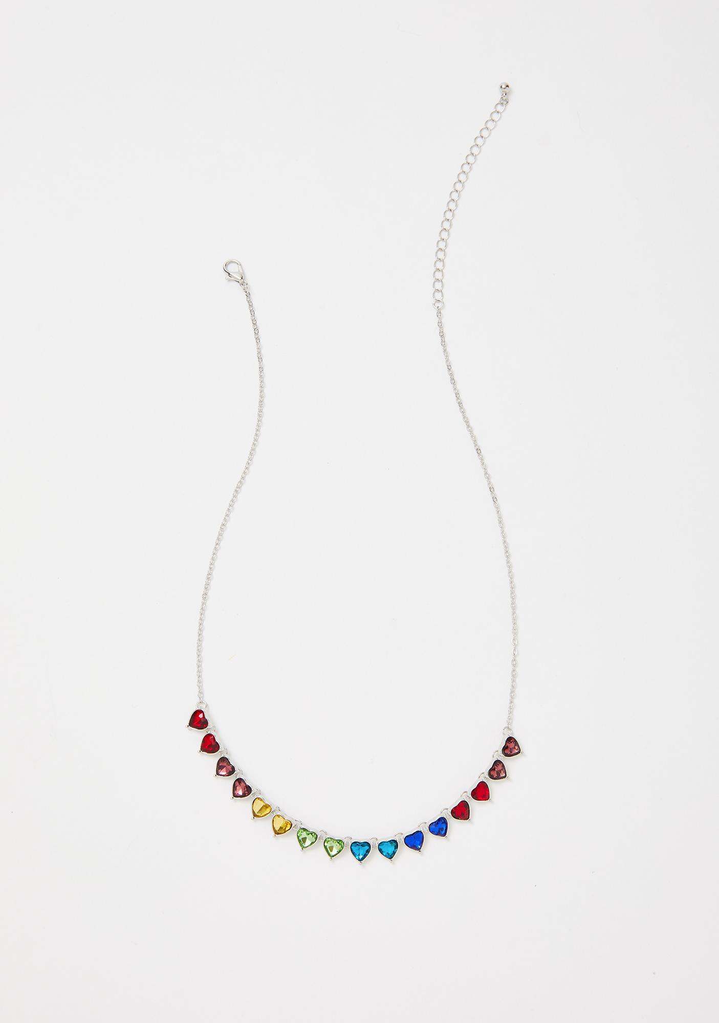 Lover To Be Rainbow Necklace