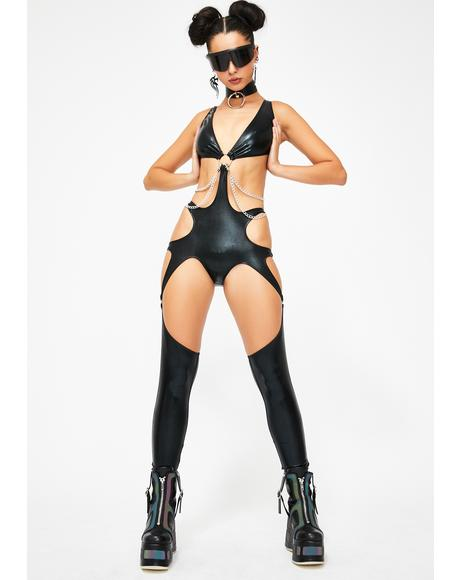 Adrenaline Rush Cut-Out Catsuit