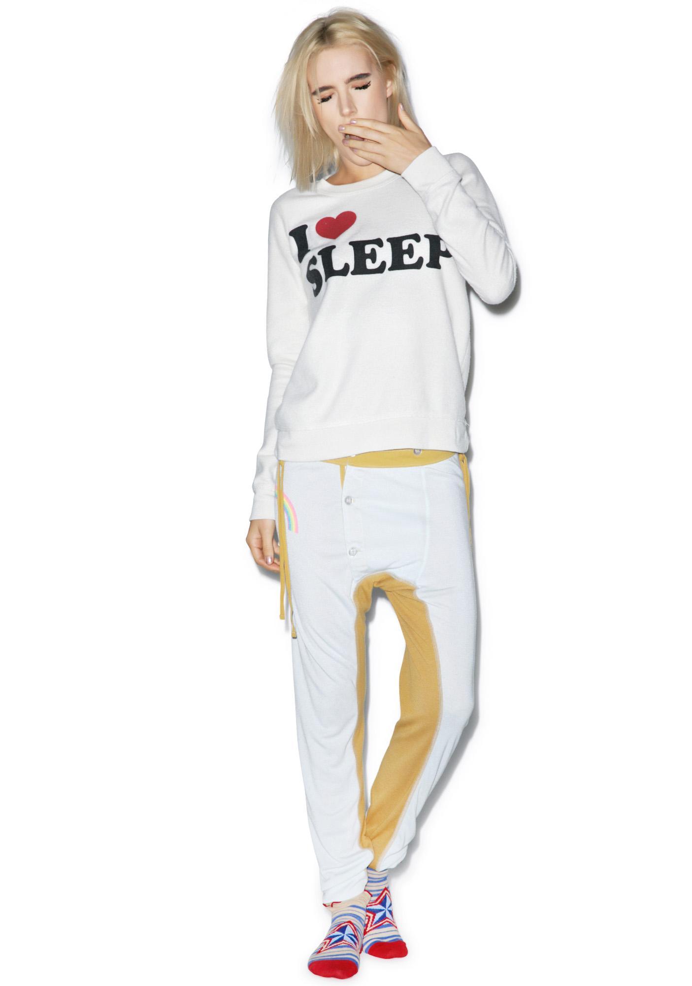 Chaser I Heart Sleep Sweatshirt