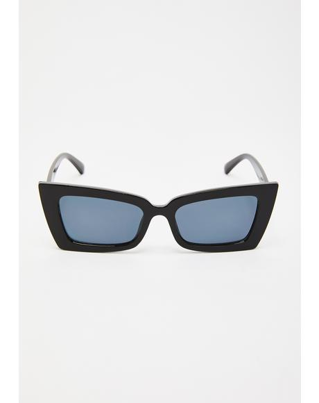Payback Time Cat-Eye Sunglasses