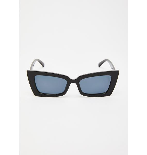Payback Time Cat-Eye Sunglasses