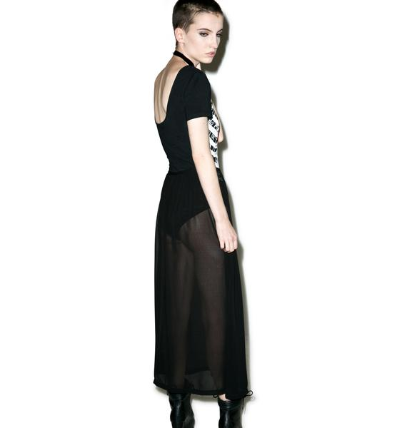 Iron Fist Wishbone Maxi Dress