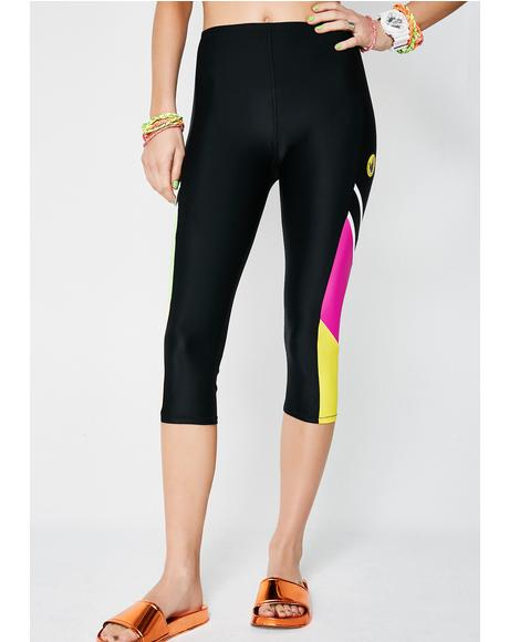 Loco Motion Capri Leggings