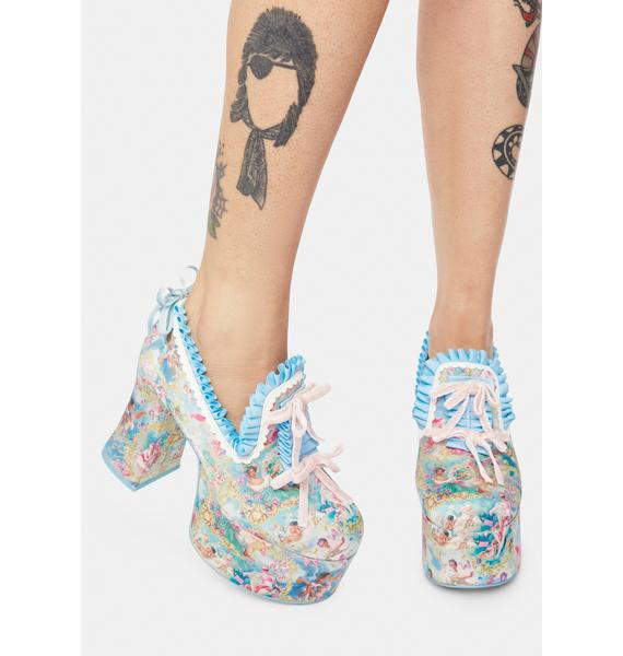 Sugar Thrillz Divine Lush Opulence Platform Loafers