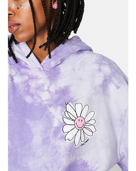 In Bloom Tie Dye Hoodie