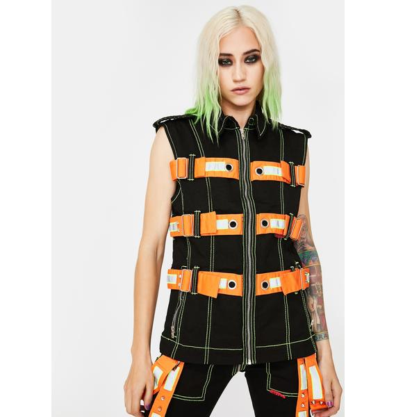 Tripp NYC Electric Reflective Vest