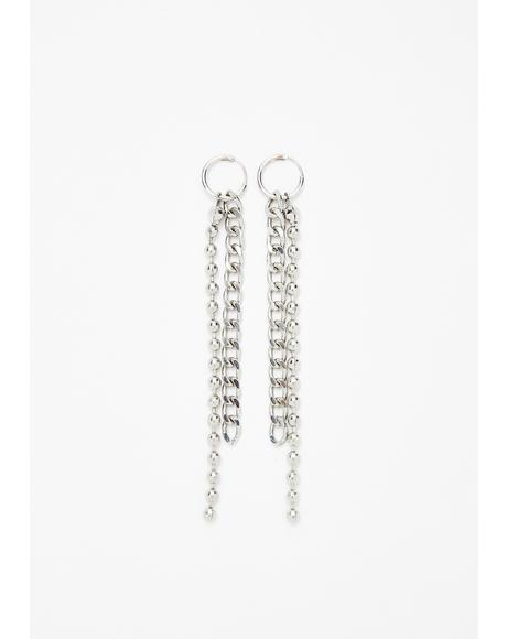 Trending Hype Chain Earrings
