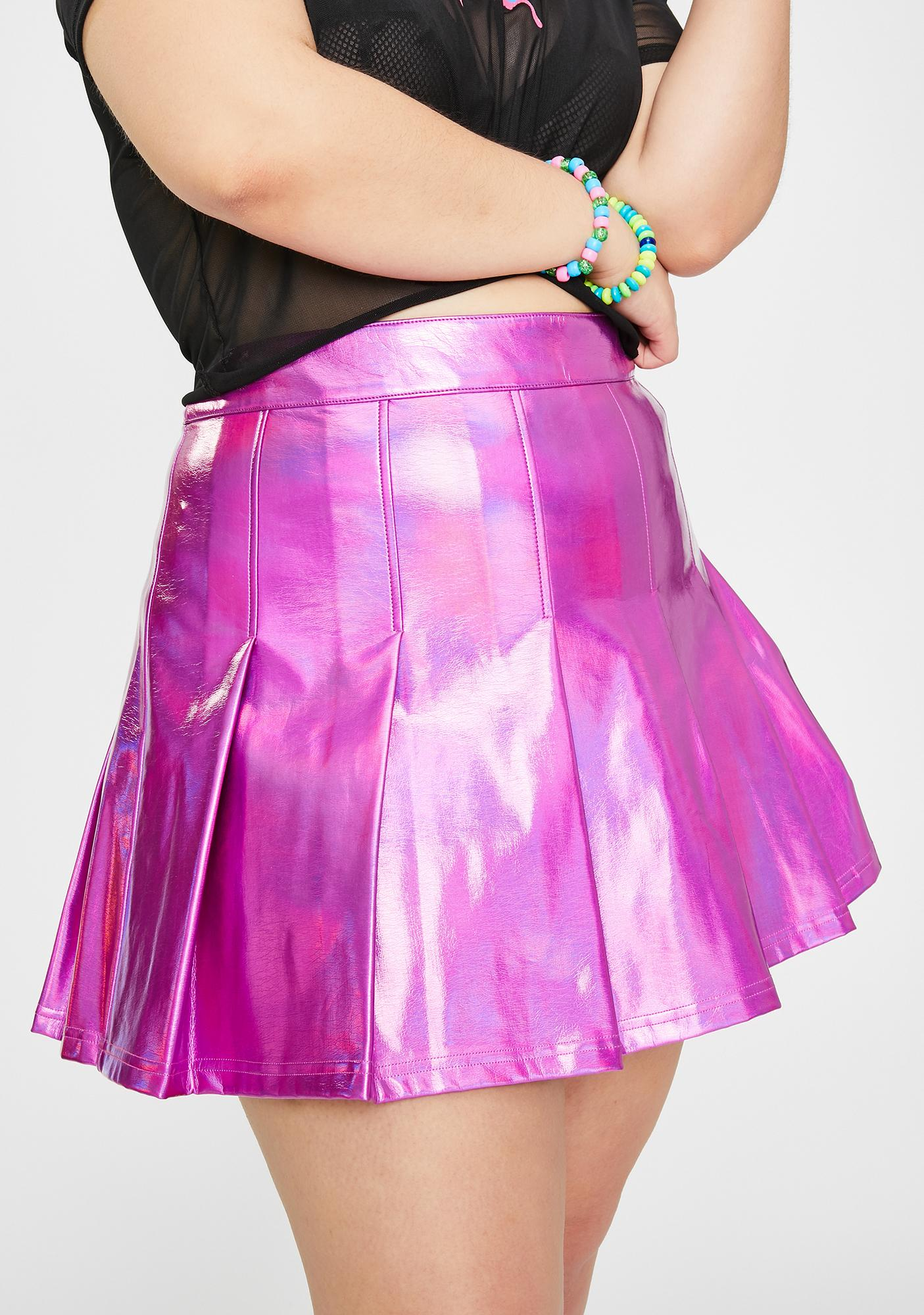 Club Exx Her Starlight Fantasy Pleated Skirt