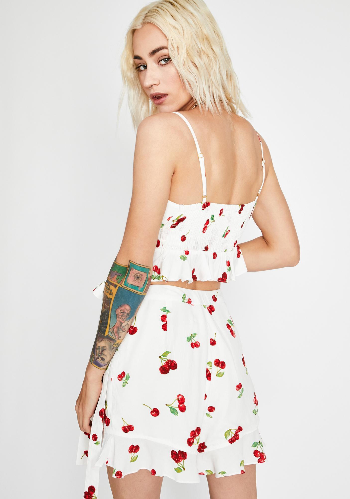 Cherry Pop Skort Set