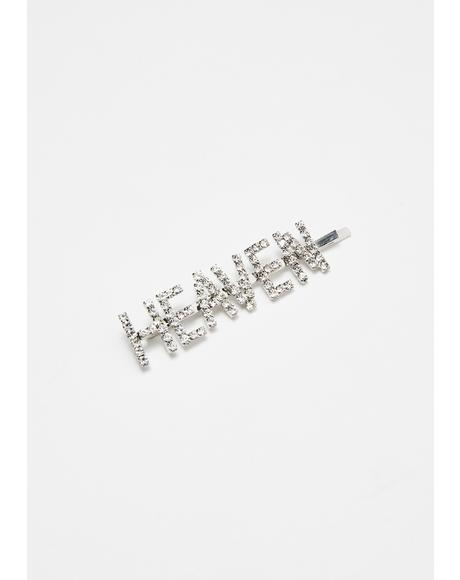 Pearly Gates Rhinestone Bobby Pin