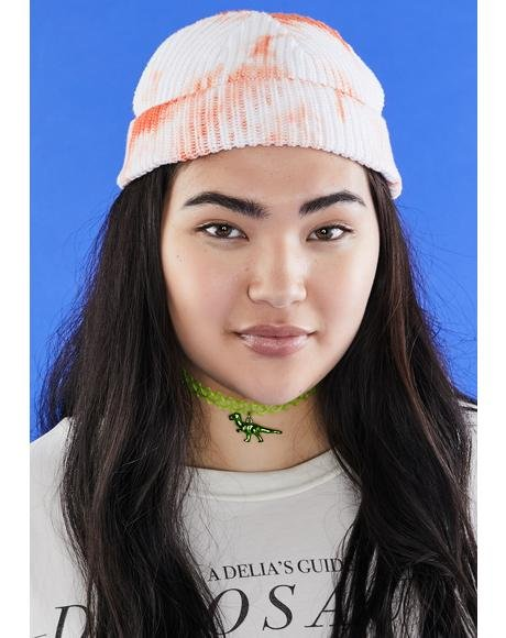 Juicy Chill Mode Tie Dye Beanie