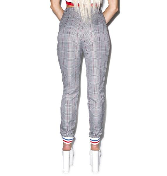 Tippi Plaid Trousers