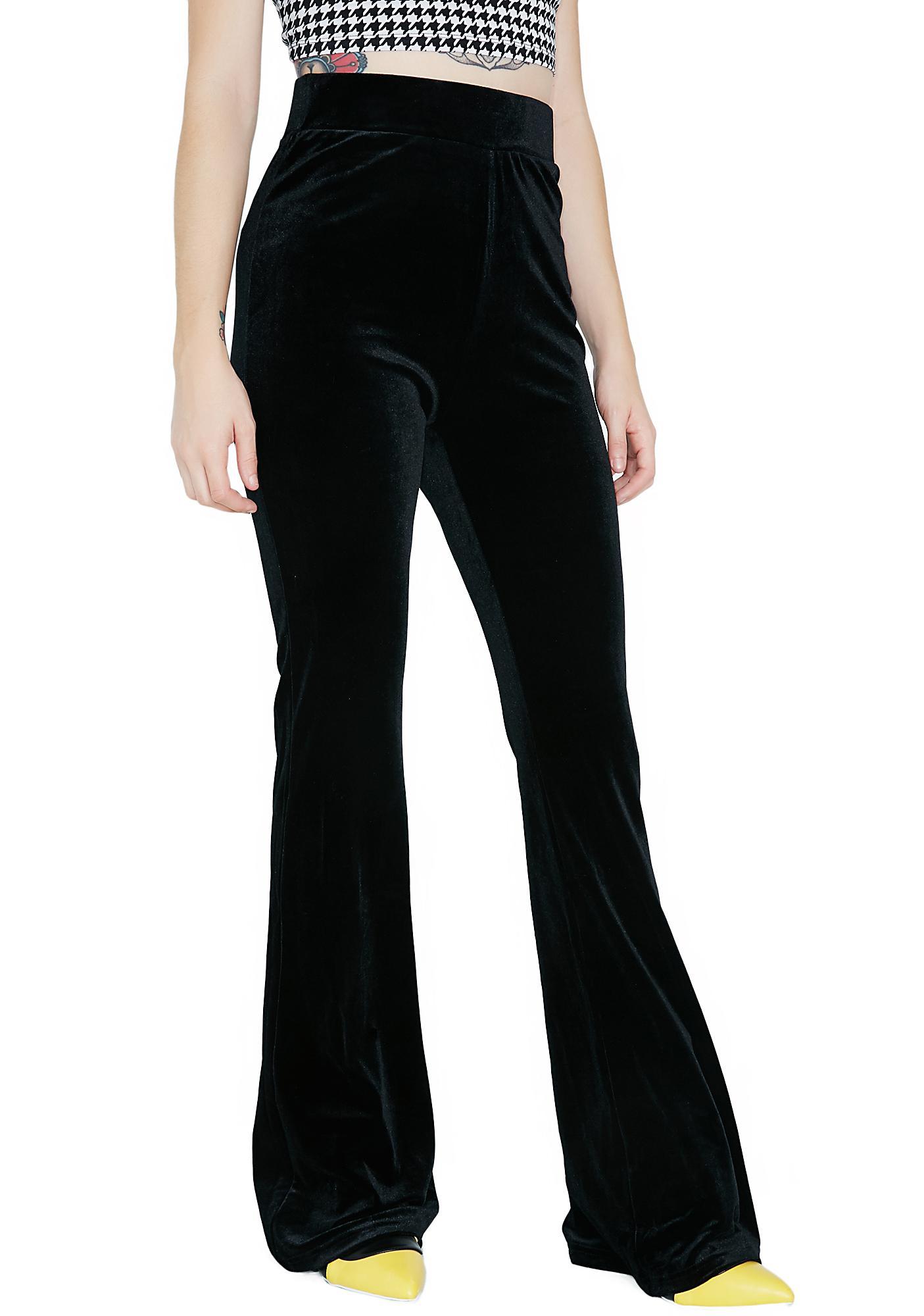 Midnight Persuasion Velvet Pants
