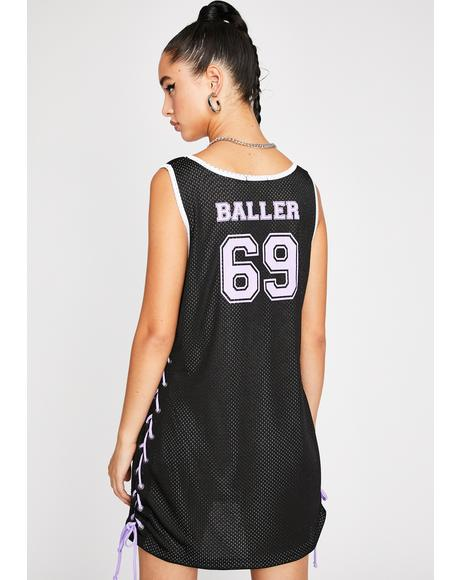 Dollar To Baller Jersey Dress
