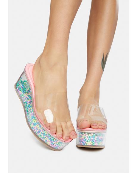 Makeout Sesh Platform Sandals