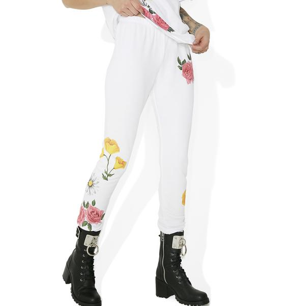 Wildfox Couture Meadow Flowers Knox Pants