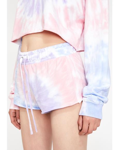 Moody Mystic Tie Dye Shorts