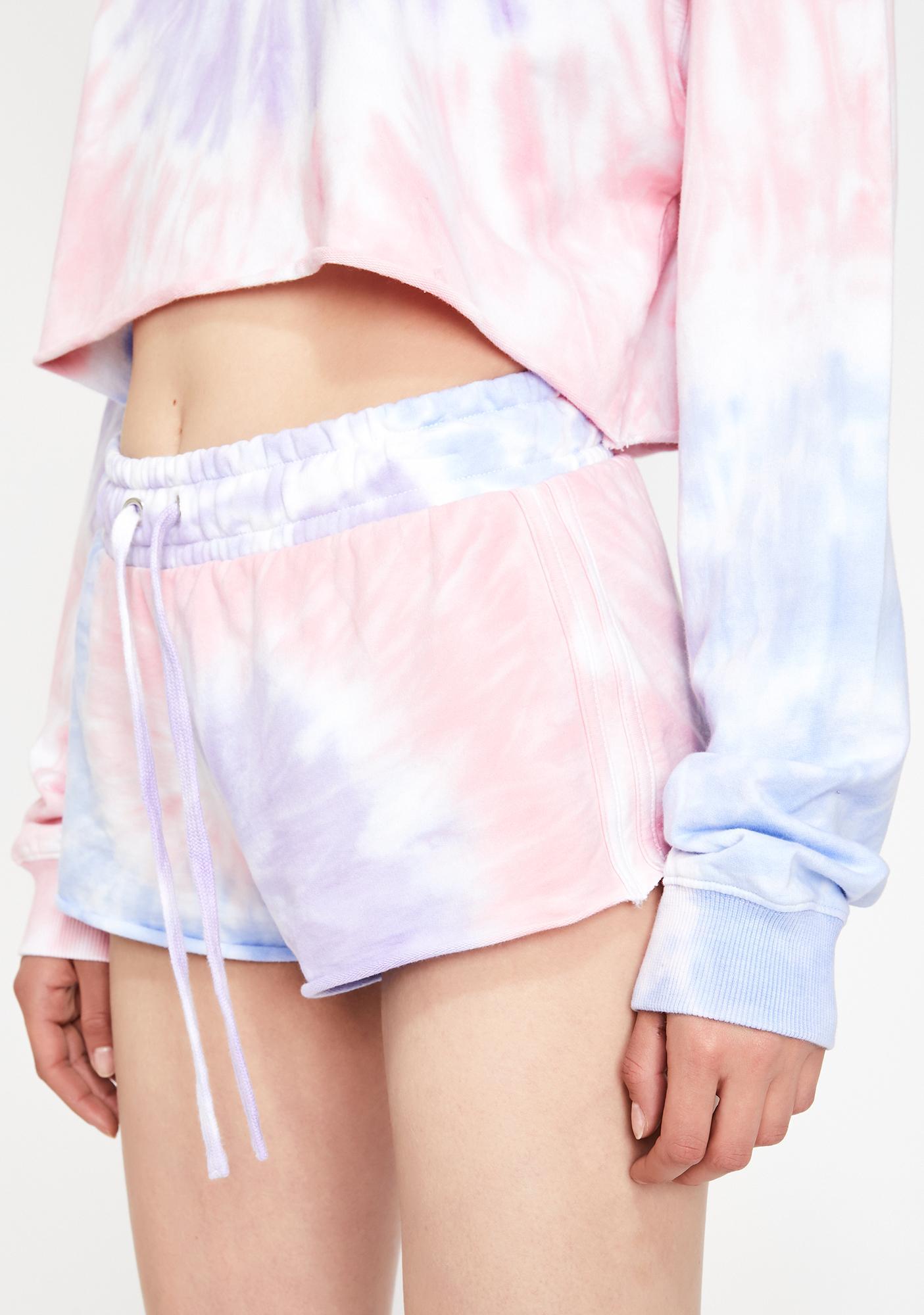 HOROSCOPEZ Moody Mystic Tie Dye Shorts