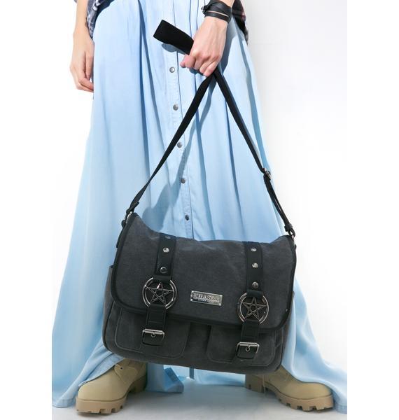 Killstar Ritual Ring Messenger Bag