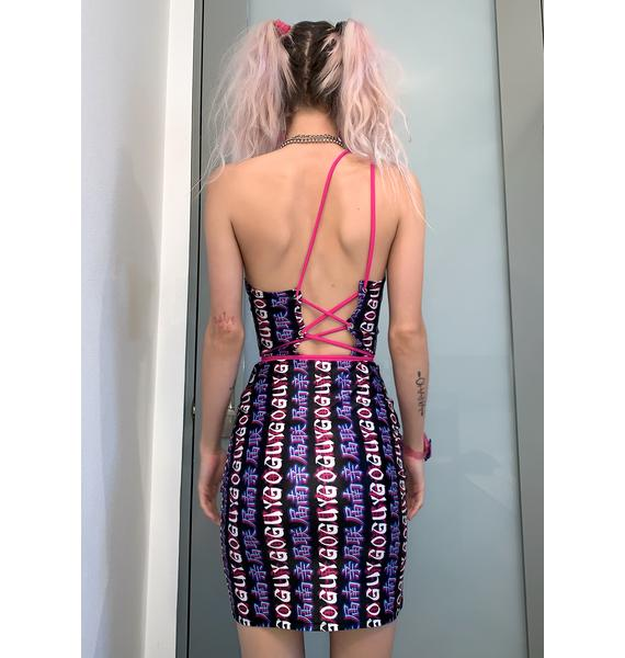 GoGuy Delusion Mini Dress