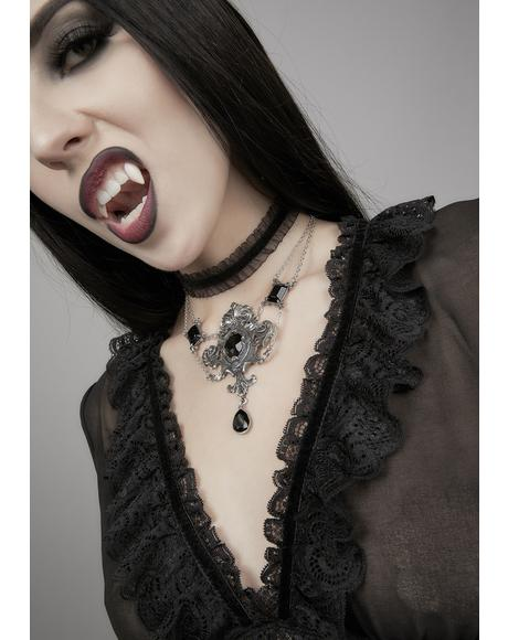 Queen Of The Dark Night Necklace