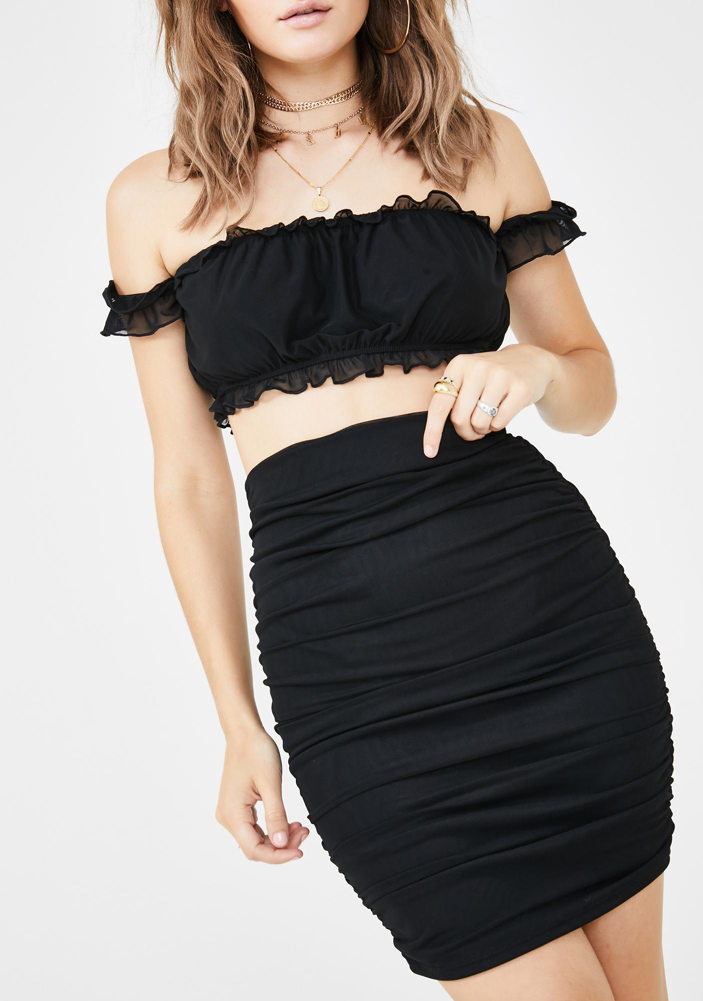 Ruff N' Tumble Skirt Set