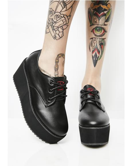 Onyx Stomp Lo Platform Oxfords