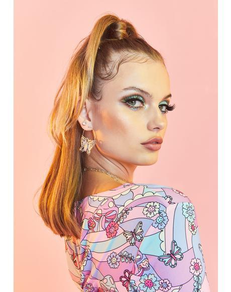See Me Soar Butterfly Earrings