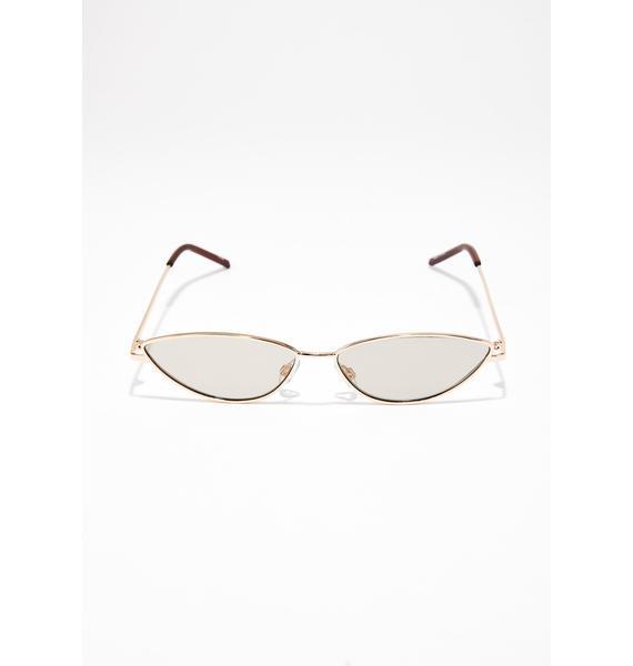 Glance Ova Here Cat Eye Sunglasses