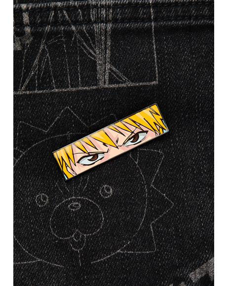X Bleach Ichigo Eyes Pin