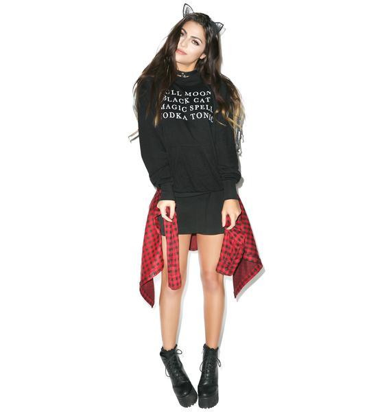 Wildfox Couture Halloween List Cuddles Hoodie