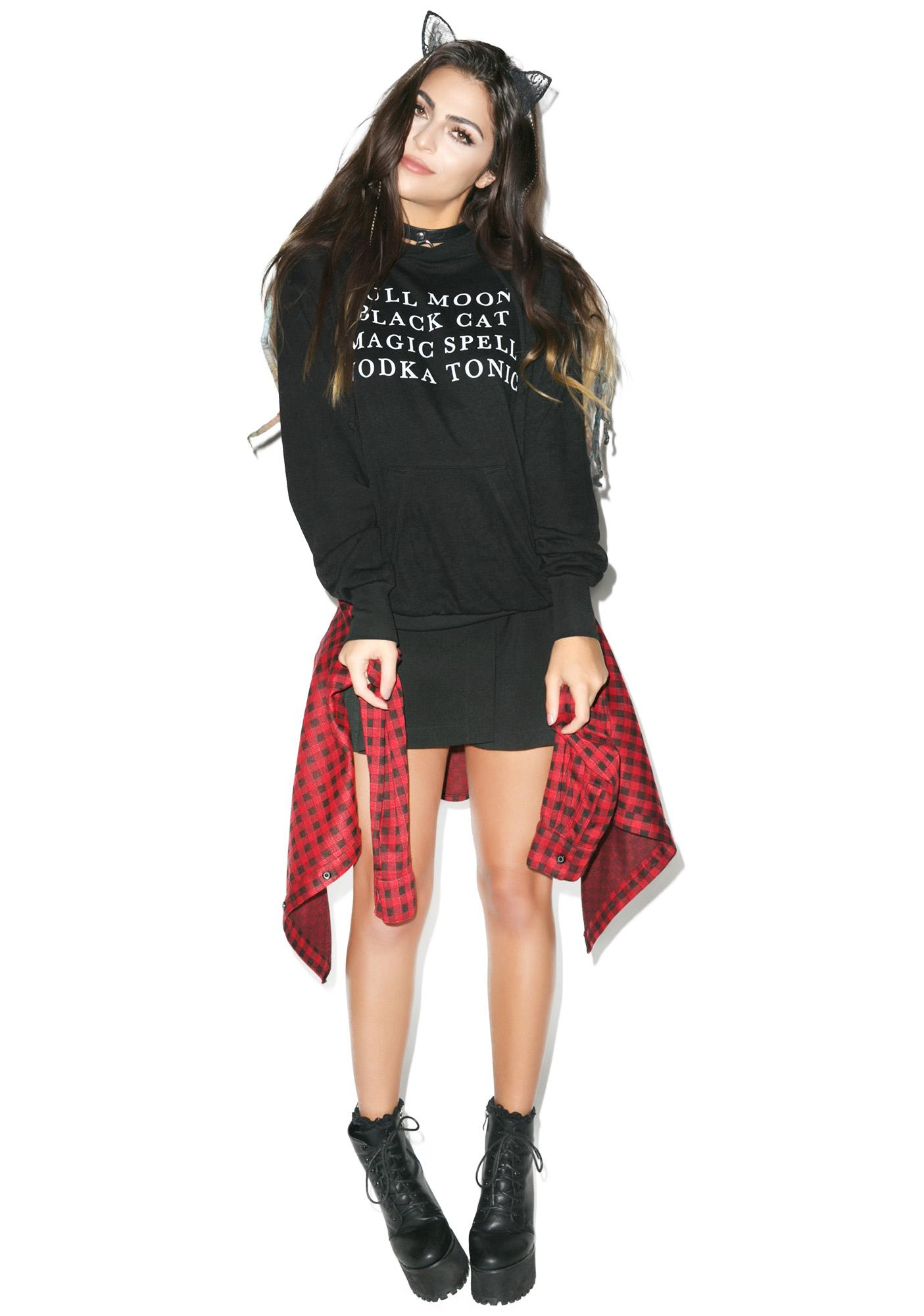 Wildfox Couture Halloween List Cuddles Hoodie